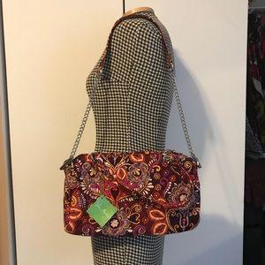 Vera Bradley Chain Strap Bag in Safari Sunset